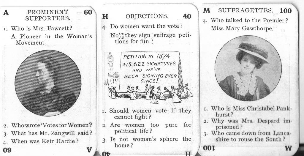 Game of Suffragettes