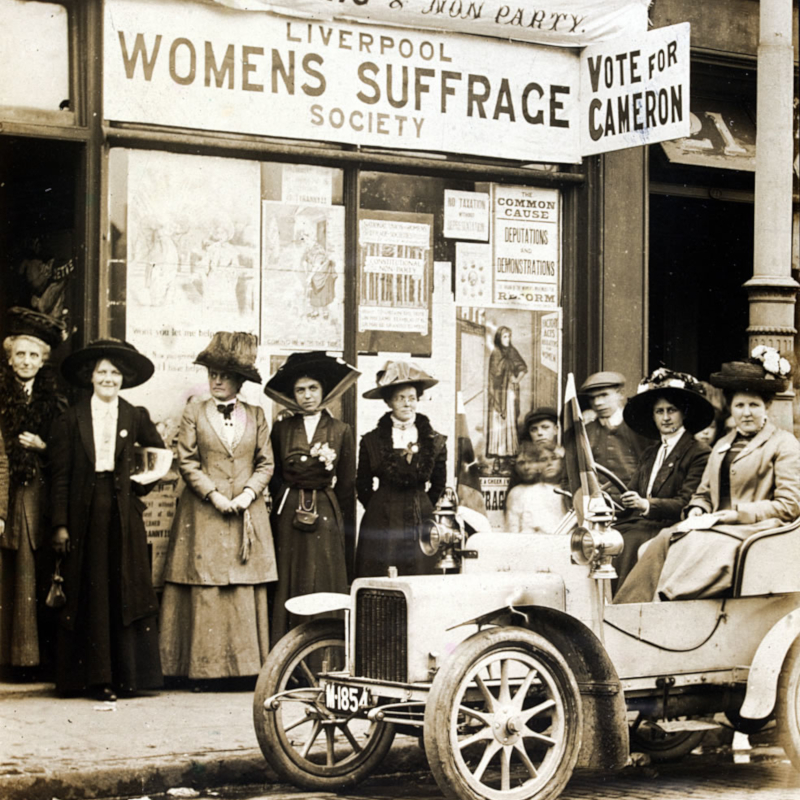 1910 Campaign Liverpool Shop - The Women's Library