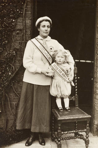 Rose Lamartine Yates and son Paul