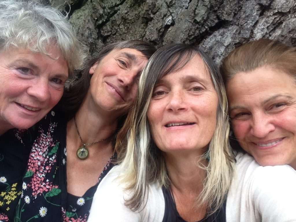 Lucy Neal, Anne-Marie Culhane, Ruth Ben-Tovim and Shelley Castle