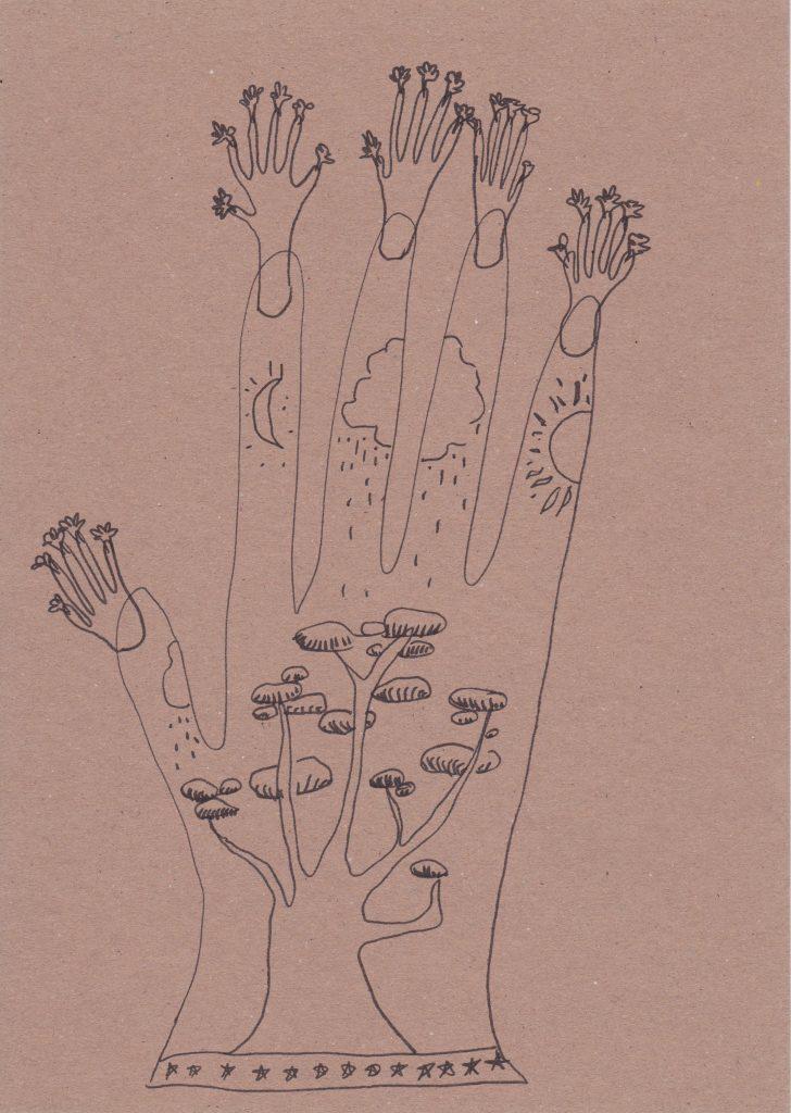 Walking Forest Doodle - SC