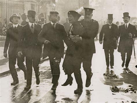 Suffragette Arrest