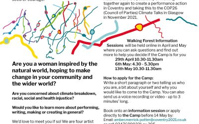 Walking Forest Coventry Camp 27 to 30 May – apply now!